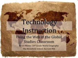 Technology Instruction