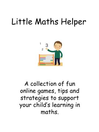 Little Maths Helper