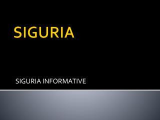 SIGURIA
