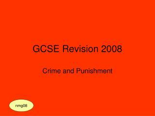 GCSE Revision 2008