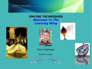 ONLINE TECHNIQUES Welcome To The Learning Wing