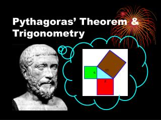 Pythagoras' Theorem & Trigonometry