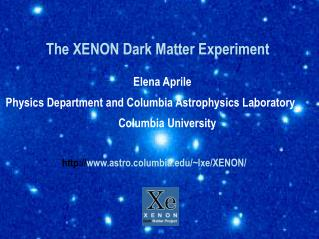 The XENON Dark Matter Experiment