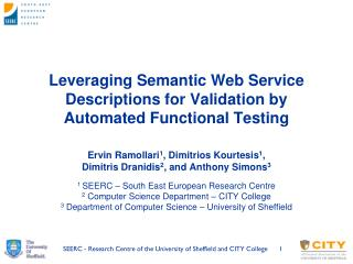 Leveraging Semantic Web Service Descriptions for Validation by Automated Functional Testing