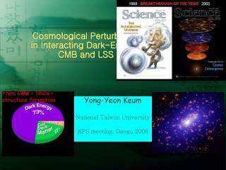 Cosmological Perturbation in Interacting Dark-Energy: CMB and LSS