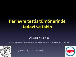 İ leri evre testis tümörlerinde tedavi ve takip