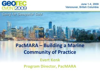 PacMARA – Building a Marine Community of Practice