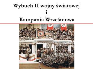 Wybuch II wojny światowej i