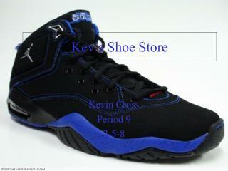 Kev's Shoe Store