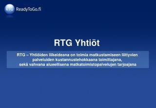 RTG Yhtiöt