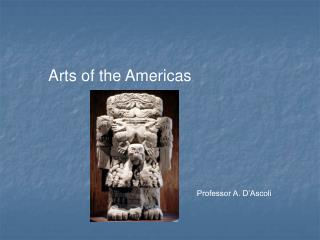 Arts of the Americas