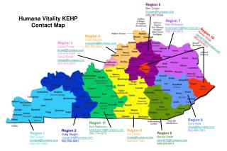 Humana Vitality KEHP Contact Map