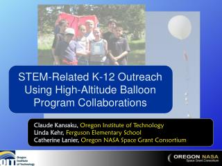 STEM-Related K-12 Outreach Using High-Altitude Balloon Program Collaborations