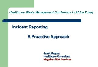 Healthcare Waste Management Conference in Africa Today