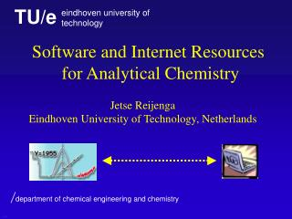 Software and Internet Resources  for  Analytical Chemistry