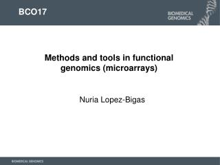 Nuria Lopez-Bigas