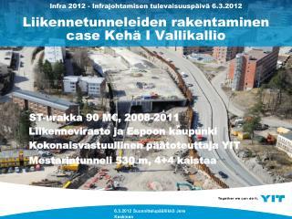 6.3.2012 Suunnittelupäällikkö Jere Keskinen