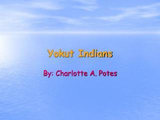 Yokut Indians