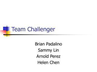 Team Challenger