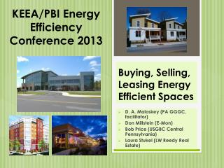 Buying, Selling, Leasing  Energy Efficient  Spaces
