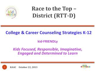 Race to the Top –  District (RTT-D)