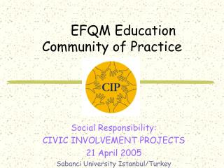 EFQM Education Community of Practice