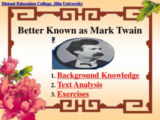 Better Known as Mark Twain