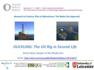 DUCKLING: The Oil Rig in Second Life