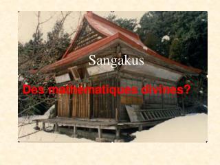 Sangakus