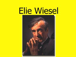 an analysis of the character of elizer in night by elie wiesels Eliezer back next  character analysis when the book begins, eliezer is essentially a child—very innocent he's also a deeply observant jew, studying talmud by day and kabbalah by night, and dedicated to becoming closer to his merciful god.