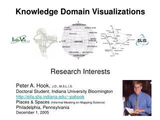 Knowledge Domain Visualizations