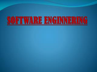 SOFTWARE ENGINNERING