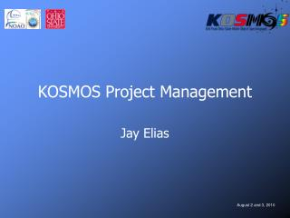 KOSMOS Project Management