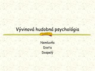 Vývinová hudobná psychológia