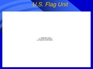 U.S. Flag Unit