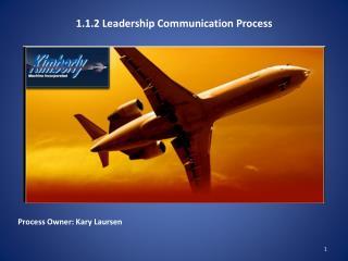 1.1.2 Leadership Communication Process