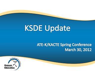 KSDE Update