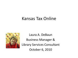 Kansas Tax Online