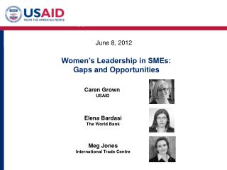 Women's Leadership in SMEs: Gaps & Opportunities