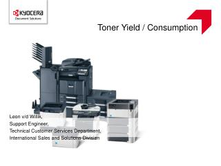 Toner Yield / Consumption