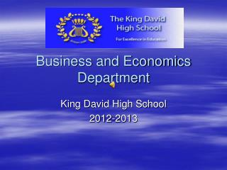 Business and Economics Department