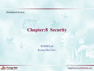Chapter:8  Security