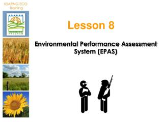 Environmental Performance Assessment System (EPAS)