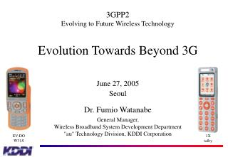 Evolution Towards Beyond 3G