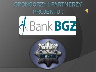 Sponsorzy i partnerzy Projektu :