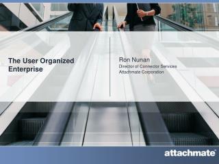 The User Organized Enterprise