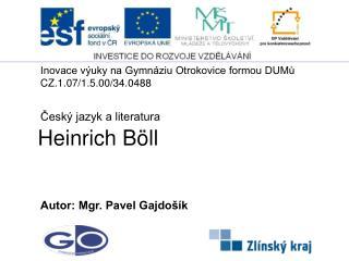 Heinrich  B�ll