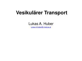 Vesikulärer Transport