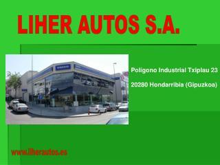 LIHER AUTOS S.A.