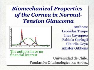 Biomechanical Properties of the Cornea in Normal-Tension Glaucoma